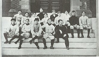 Pinkerton Academy - Pinkerton Academy football squad of 1896