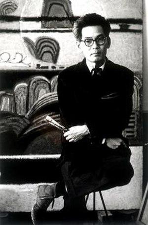 Whanki Kim - Image: Portrait of Kim Hwangi Lim Eungsik 1961