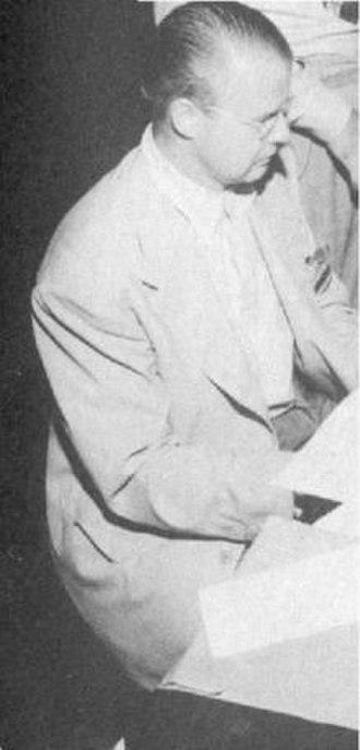 Chummy MacGregor - Image: Portrait of jazz musician Chummy Mac Gregor