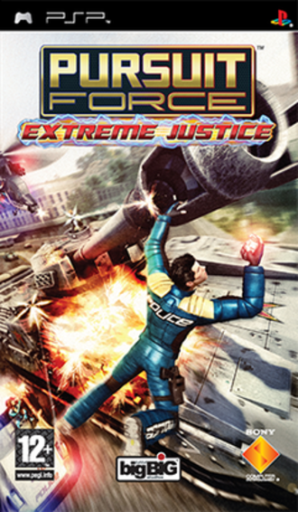 Pursuit Force: Extreme Justice - PAL game cover