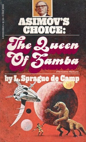 The Queen of Zamba - first edition of The Queen of Zamba with the author's preferred title and text