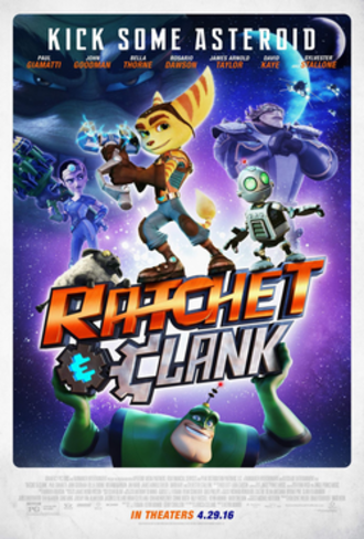 Ratchet & Clank (film) - Theatrical release poster