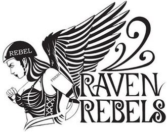 Fairbanks Rollergirls - Image: Raven rebels
