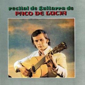 Recital de guitarra - Image: Recital de pdl