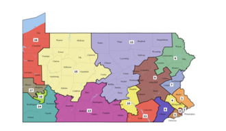 2018 United States House of Representatives elections in Pennsylvania - Court-mandated districts for 2018 elections.