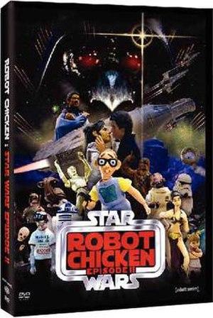 Robot Chicken: Star Wars Episode II - DVD cover