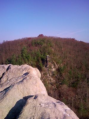 Rocks State Park - View from the King and Queen's Seat
