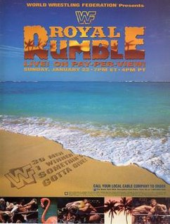 Royal Rumble (1995) 1995 World Wrestling Federation pay-per-view event