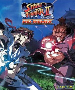 Super Street Fighter II Turbo HD Remix - Box art