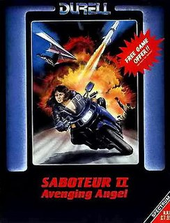 <i>Saboteur II: Avenging Angel</i> video game created by Clive Townsend