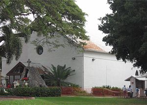 St. Michael the Archangel Church (Kailua-Kona, Hawaii) - Saint Michael the Archangel Church 1850–2009