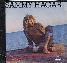 Sammy Hagar - (Sittin' on) The Dock of the Bay single front cover.jpg