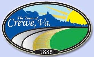 Crewe, Virginia - Image: Seal of Crewe, Virginia