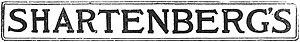 Shartenberg's Department Store - Image: Shartenberg logo 1917
