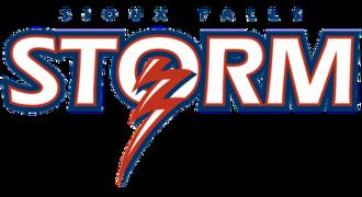Sioux Falls Storm - Image: Sioux Falls Storm logo