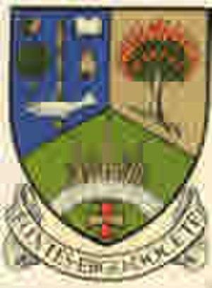 Trinity College, Glasgow - Image: Sm Trin Crest