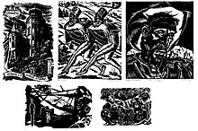 what is the main advantage of linocut over woodcut printmaking