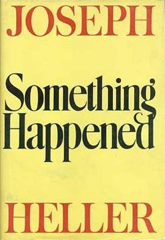 Something Happened - First edition