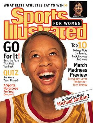 Sports Illustrated for Women - Spring 1999 cover with Seimone Augustus
