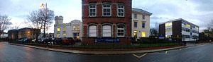 St John's College, Portsmouth -  St John's College, front aspect 2016