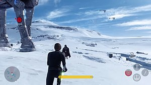 Star Wars Battlefront (2015 video game) - Players have the ability to control characters from the films, such as Luke Skywalker and Darth Vader.