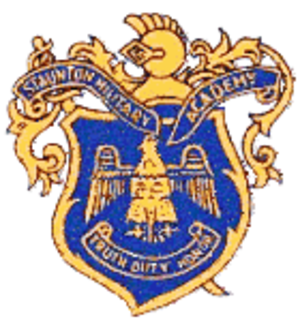 Staunton Military Academy - Image: Staunton Military Academy Logo