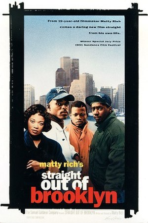Straight Out of Brooklyn - Poster