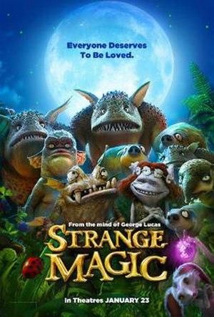 Strange Magic (film) - Theatrical release poster