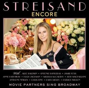 Encore: Movie Partners Sing Broadway - Image: Streisand Encore cover