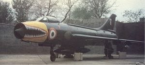 No. 222 Squadron IAF - Image: Su 7 Tigershark