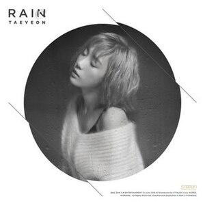 Rain (Taeyeon song) - Image: Taeyeon Rain 2016 Single