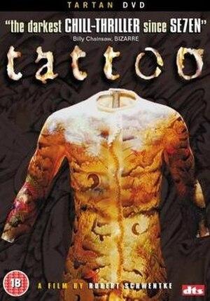 Tattoo (2002 film) - DVD cover
