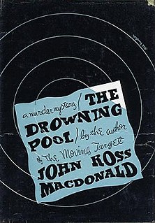 <i>The Drowning Pool</i> novel by Ross Macdonald