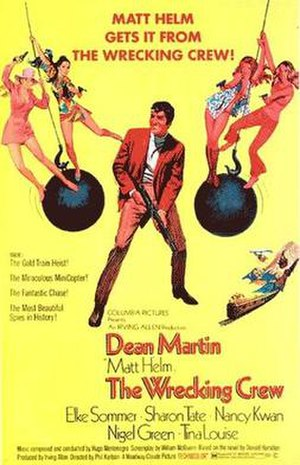 The Wrecking Crew (1968 film) - original film poster by Robert McGinnis