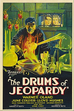 The Drums of Jeopardy (1931 film) - Image: The Drums of Jeopardy Film Poster