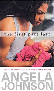 <i>The First Part Last</i> book by Angela Johnson