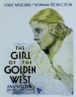<i>The Girl of the Golden West</i> (1930 film) 1930 film by John Francis Dillon