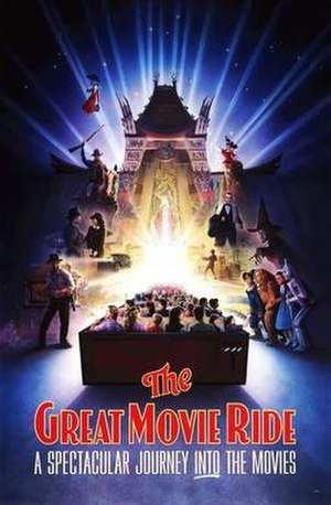 The Great Movie Ride - Image: The Great Movie Ride original poster
