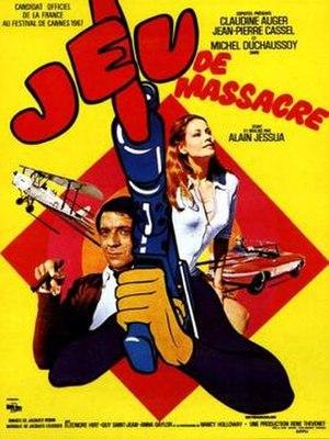 The Killing Game (1967 film) - A poster bearing the film's French title: Jeu de massacre