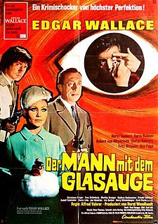 <i>The Man with the Glass Eye</i> 1969 film by Alfred Vohrer