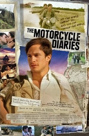 The Motorcycle Diaries (film) - Theatrical release poster