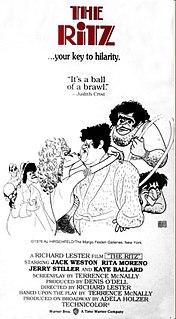 <i>The Ritz</i> (film) 1976 film by Richard Lester