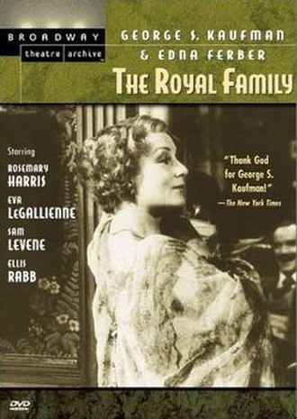 The Royal Family (play) - The 1977 Great Performances presentation of the 1975 Broadway revival starring Rosemary Harris was released on DVD