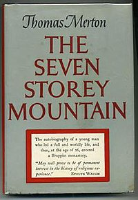 The Seven Storey Mountain, by Thomas Merton, book cover.jpg