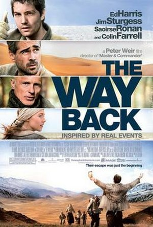 The Way Back - Theatrical release poster