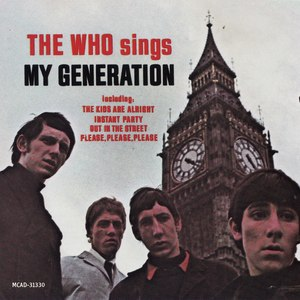 My Generation (album) - Image: The Who sings My Generation