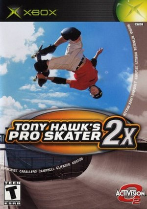 Tony Hawk's Pro Skater 2x - Image: Tony Hawk's Pro Skater 2x cover art