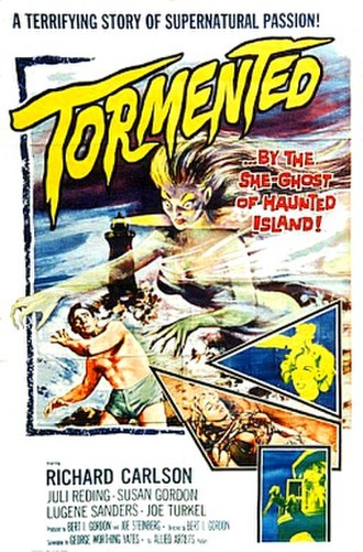 Tormented (1960 film) - Promotional release poster
