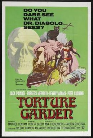 Torture Garden (film) - Theatrical release poster