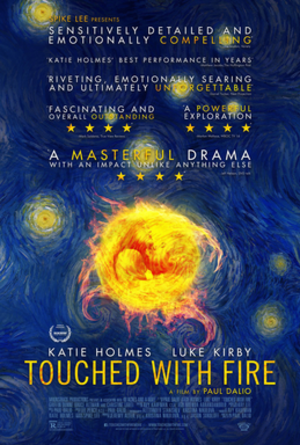 Touched with Fire (film) - Theatrical release poster